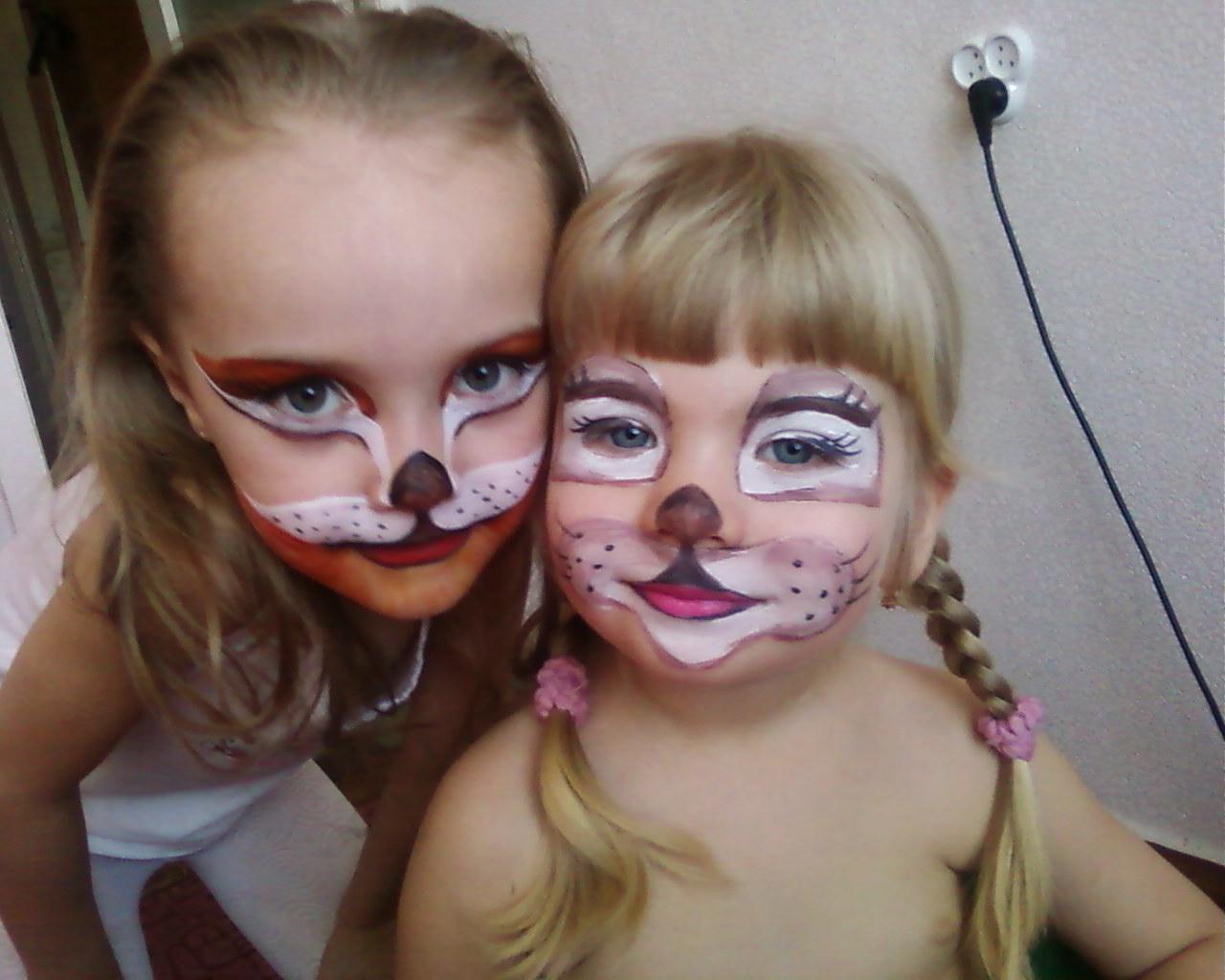 Фото детям о гриме